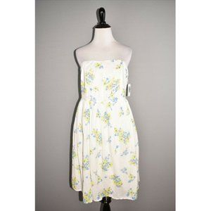OLD NAVY NEW Floral Strapless Dress